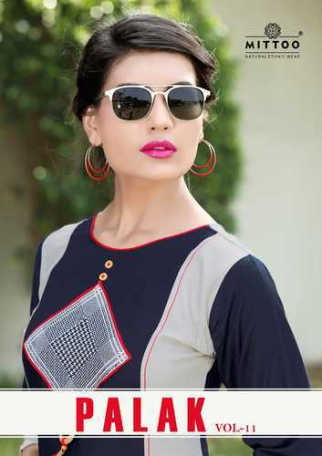 39e73e4d92 Rayon Kurti - Bitu Ladies Rayon Designer Kurtis Manufacturer from Surat
