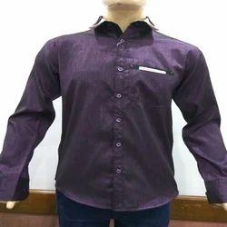 Casual Plain Men's Stylish Shirt