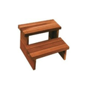Ayurvedic Massage Table Wooden Step