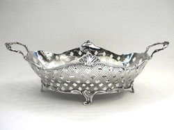 Metal Antique Fruit Basket