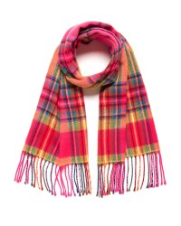 Checked Scarve With Fringes