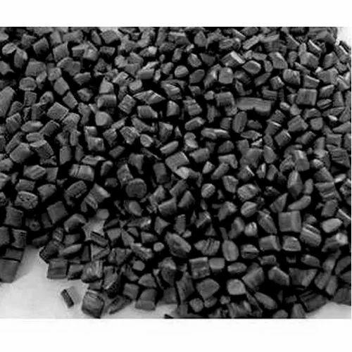 Recycled PP Black Granule, For In Industrial, Modelling Item