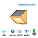 20 LED Solar Motion Sensor Wall Light