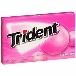 Trident Sugar-Free Sugar Free Imported Chewing Gum (Assorted Flavors)(12 pcs pack)