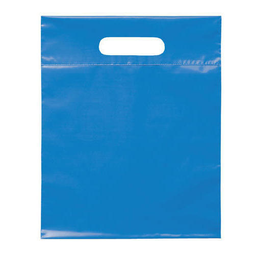 D Cut Plastic Carry Bag