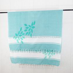 Printed Beach Towel Classical Fouta Pareo Turkish Peshtemal