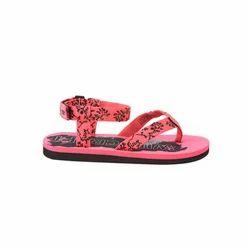 Polyester Webbing Straps Women Flip Flop Zuri - Pink