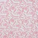 Cotton Pink Block Print Hand Made Jaipuri Razai Double Bed Quilt