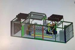 Natural Gas Generator 1000 Kw / 1250 Kva