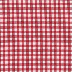 Red Checks shirt Fabric, GSM: 200-250