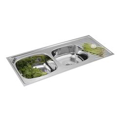 Double Bowl Vegetable Sink