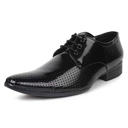d07cff4468bd11 Men' s Stylish 0129 Black Color Corporate Office Party Wear Formal Moccasin  Slip-on