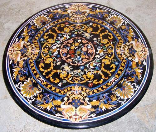 pietra dura marble table tops