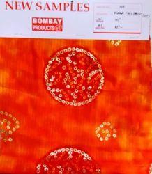 Print Munga with foil D No 1002 Sst Fabric