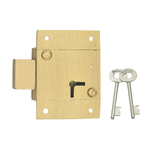 Cabinets Lever Heavy Duty Furniture Brass Lock, Stainless Steel