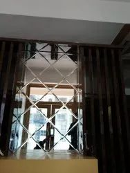 Reflective Decorative Glass, Thickness: 5-15 Mm, Packaging Type: Box