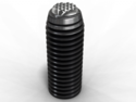 Serrated Swivel screw