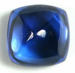 Tanzanite Cushion Cabochon Gemstone