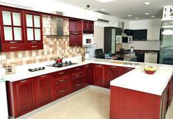 U Shape Modular Kitchen Service