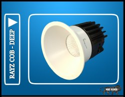 COB Downlight 10 Watt Rayz Deep Model