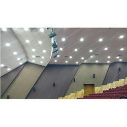 Wood Wool Acoustic Ceiling Panels