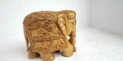 Sandal Wood Elephant Statue