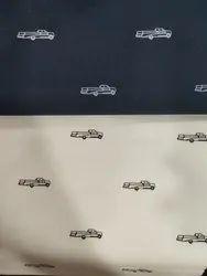 Printed Poplin Shirting Fabric