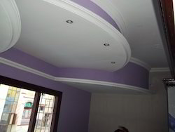 Living Room Ceiling Painting