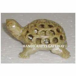 Soapstone Undercut Turtle