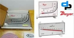 Dwyer Mark II MM -180 Manometer 0-180 MM WC