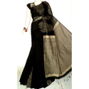 Ghicha Temple Border Cotton Silk Handloom Saree