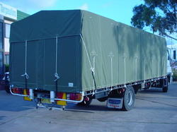 Heavy Transport Tarpaulins