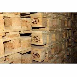 4 Way Heat Treated Wooden Pallet, For Export, Capacity: 2 Ton