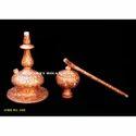 Makrana Marble Handicraft Hookah