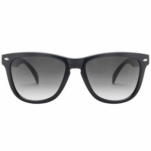 4e12f944211dd Shine Black Gradient Grey Wayfarer Sunglasses