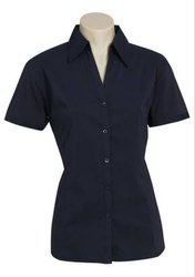 Fair Trade Organic Cotton Ladies Half Sleeve Shirts