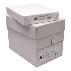 Wood Pulp White Bindal Copier Cum Printing Paper 70-85 GSM A4 Size, Packaging Type: Box (10 Ream Per Box), GSM: 70 - 150
