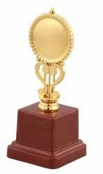 Fiber Gold Plated Trophy
