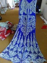 Embroidered Designer Hand Embrodred Weding Dress Gown