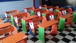Kids Theme Angry Desk
