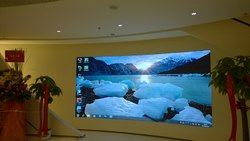 Wall Mounted Rectangle Indoor LED Video Standee