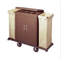 Powder Coated Housekeeping Trolley