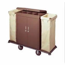 Powder Coated Housekeeping Trolley