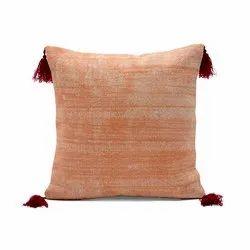 Cotton Plain Dyed Cushion Cover