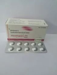 Montelukast And Fexofenadine HCL Tablets