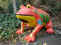 FRP Frog Sculpture