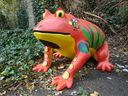FRP Frog Sculpture