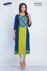 Multi Printed Colours Kurti