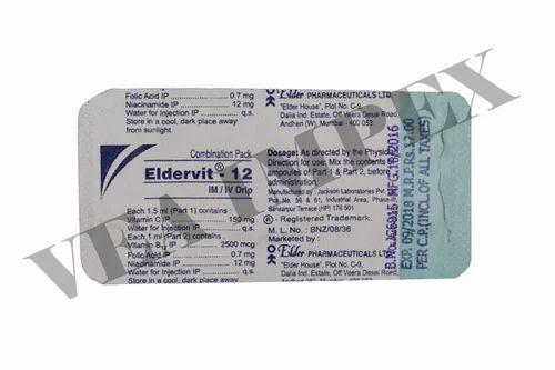 Eldervit-12(Folic Acid) - View Specifications & Details of