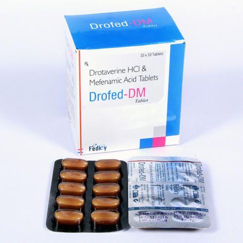 Drotaverine 80 Mg Mefenamic Acid 250 Mg Tablet